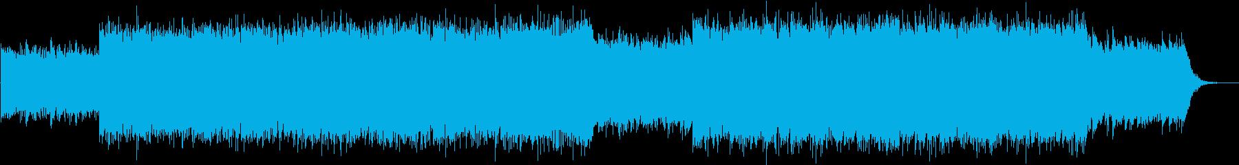 美しく幻想的なチルアウト(アンビエント)の再生済みの波形