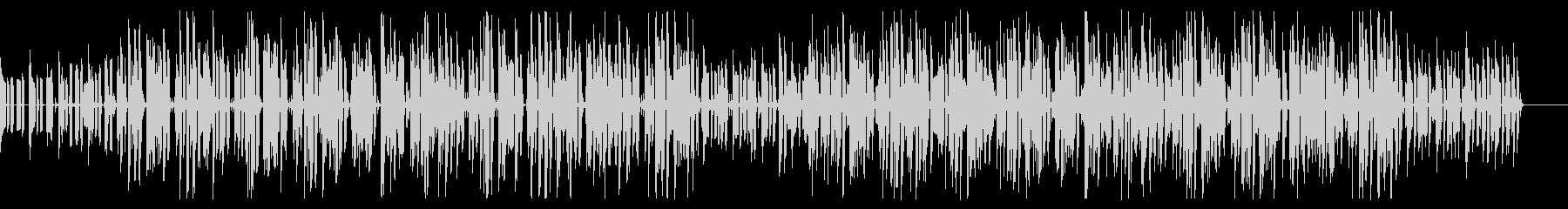 耳に残るファンクで民族音楽風なポップの未再生の波形