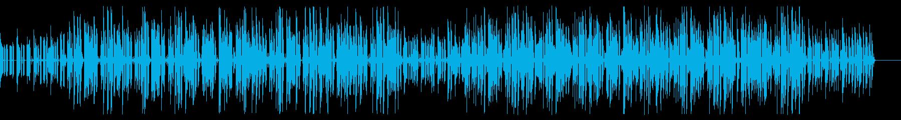 耳に残るファンクで民族音楽風なポップの再生済みの波形