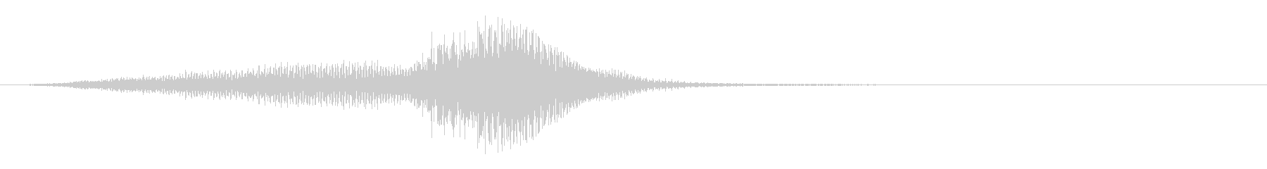 ドラマティックオーケストラアクセント4の未再生の波形