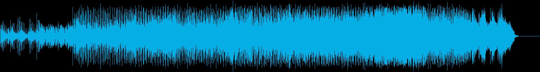 妖しげなポップ/ハウス/マイナーの再生済みの波形