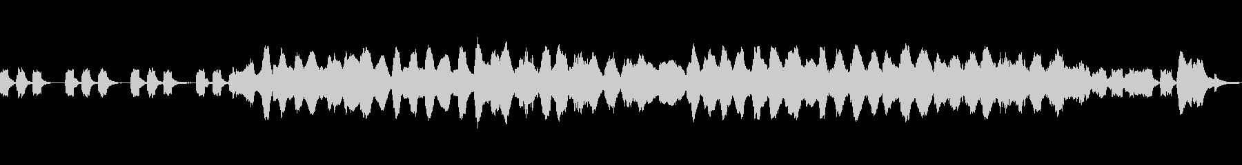 喪失感のあるクラシックの未再生の波形