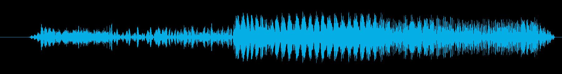急停止の再生済みの波形