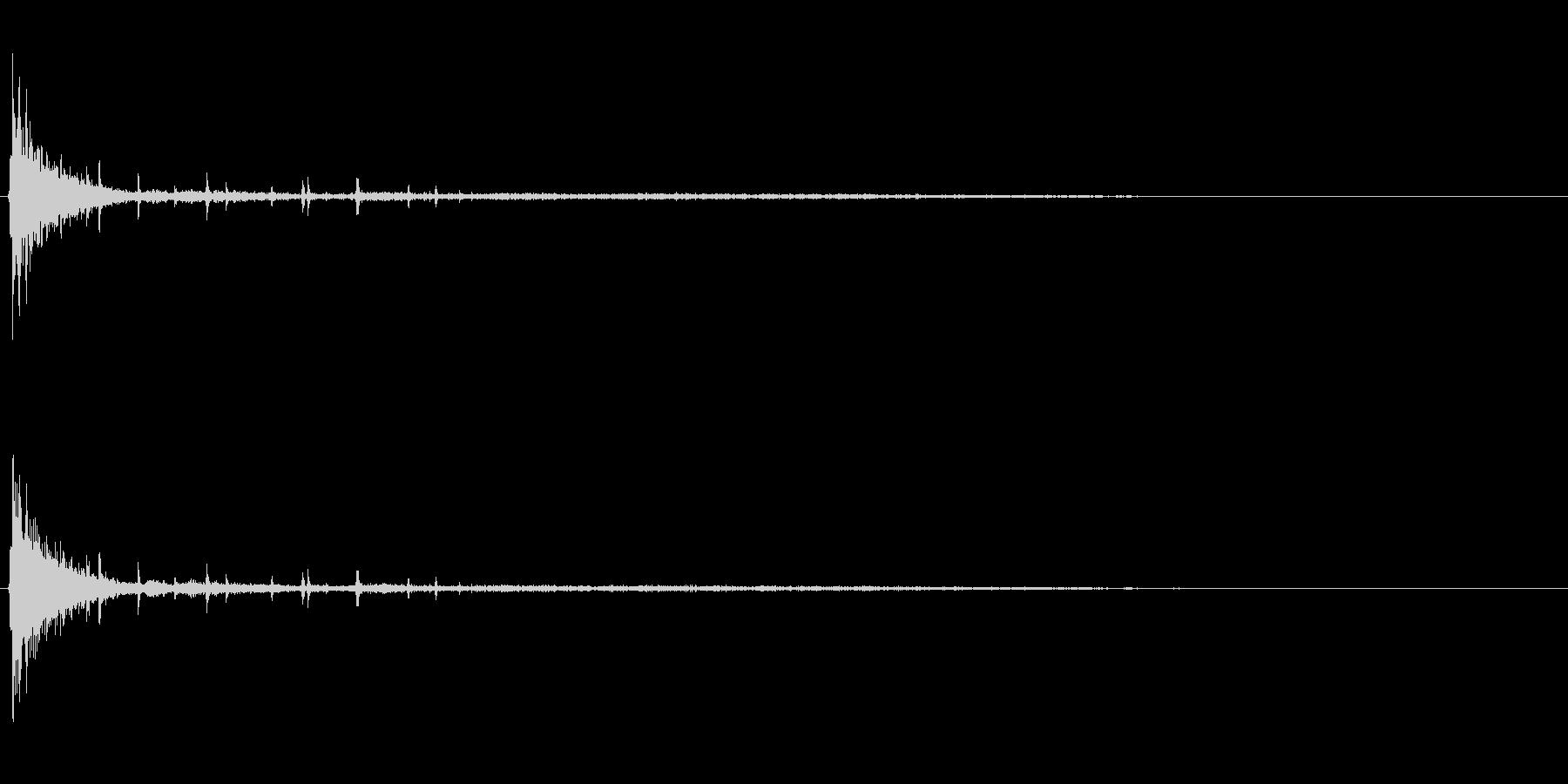 [生録音]ラムネ瓶を開ける02の未再生の波形