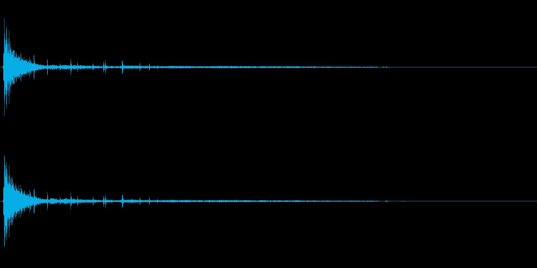 [生録音]ラムネ瓶を開ける02の再生済みの波形