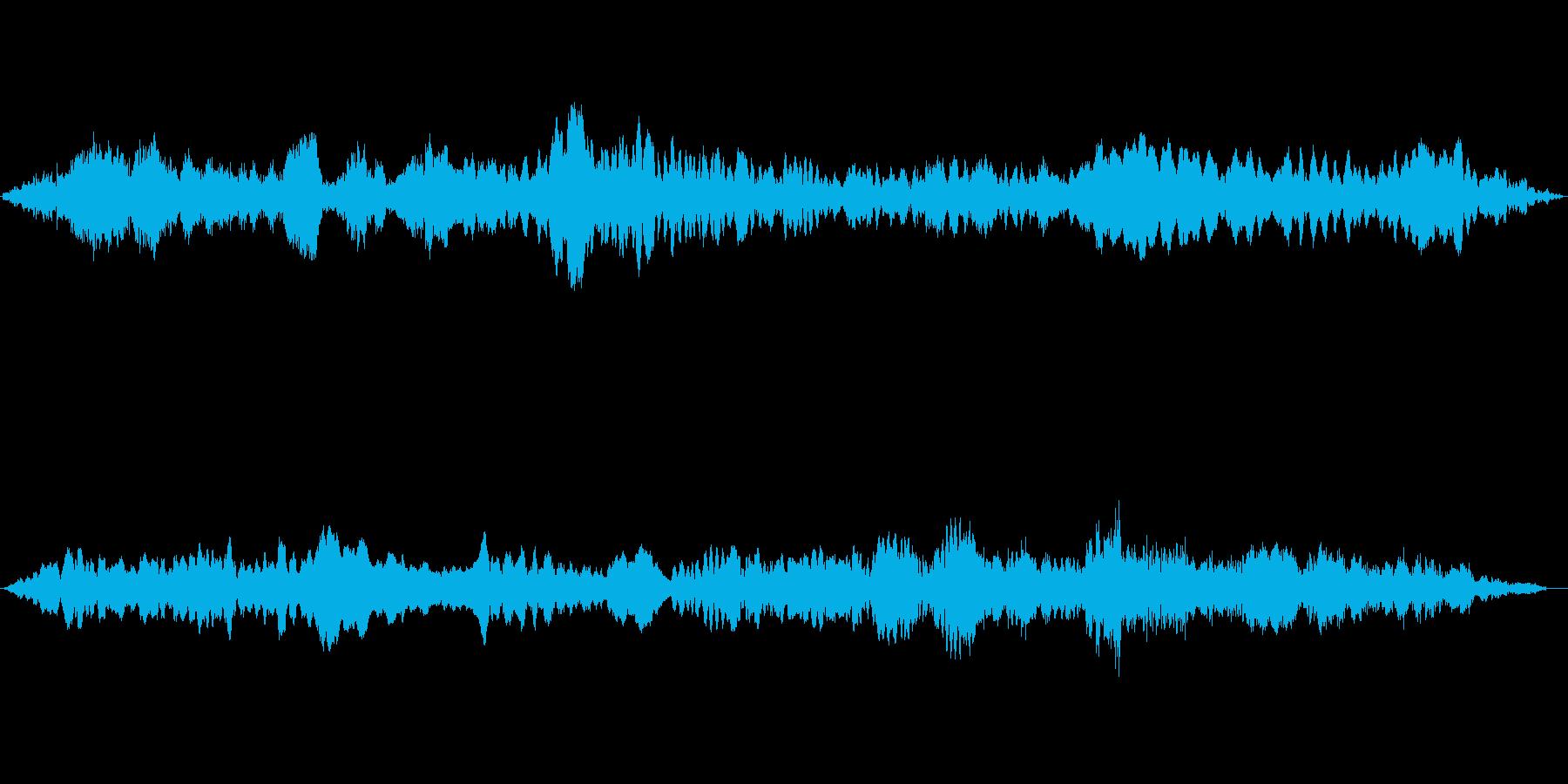(うめき声)の再生済みの波形