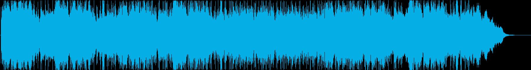テクノロジー、アンビエントの再生済みの波形