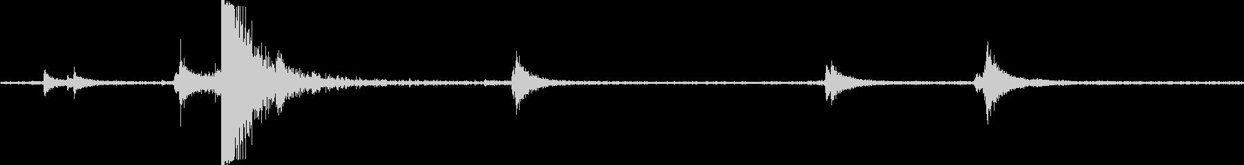 電気刑務所ドアラッチスタッドの未再生の波形