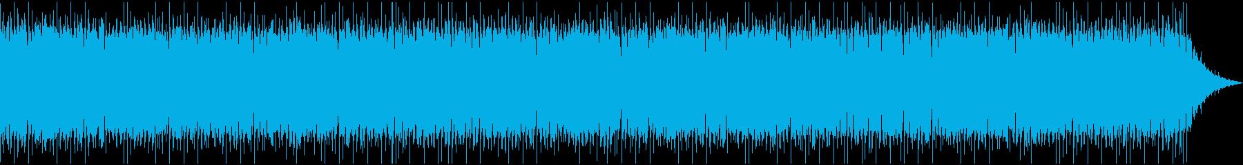 勢いのあるケルト音楽の再生済みの波形