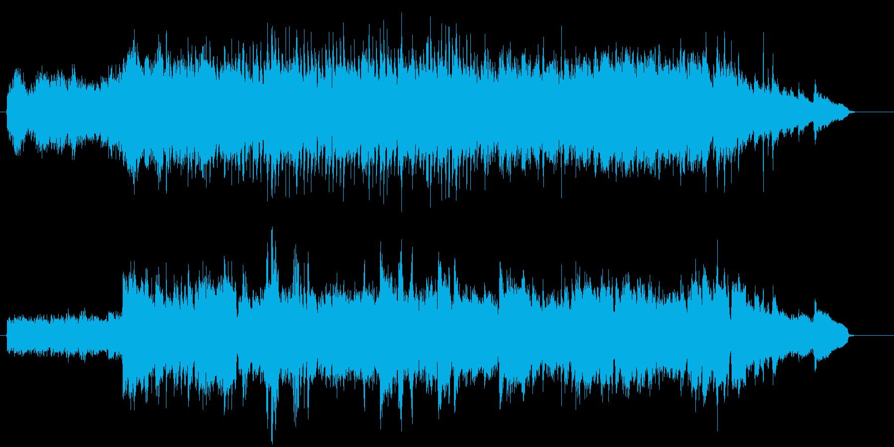 気品のあるストリングスとピアノの調べの再生済みの波形