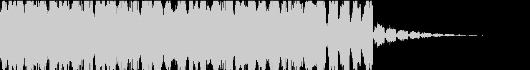 リラックスチルアウトトロピカルジングル2の未再生の波形