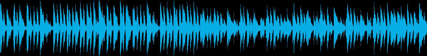 あのクリスマスの名曲をジャズで2(ループの再生済みの波形