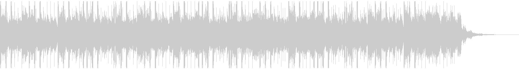 テクノロジーミュージック(30秒)の未再生の波形