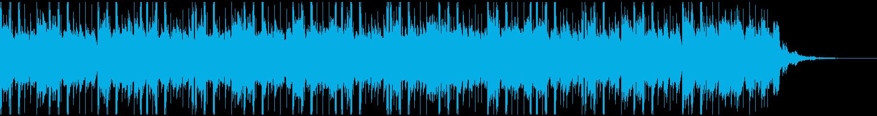 テクノロジーミュージック(30秒)の再生済みの波形