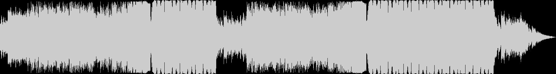 爽やかで幻想的なEDMの未再生の波形