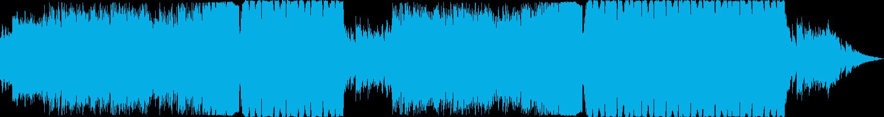 爽やかで幻想的なEDMの再生済みの波形