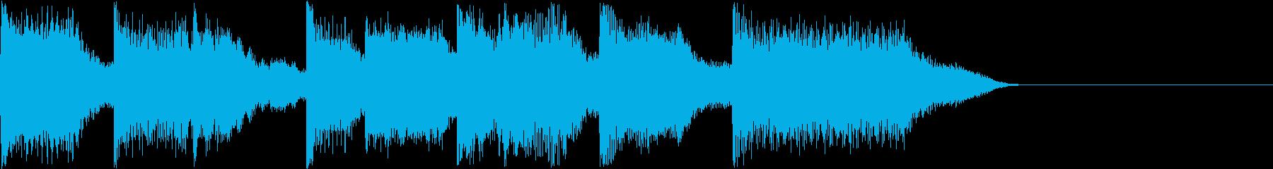 AI メカ/ロボ/マシン動作音 33の再生済みの波形