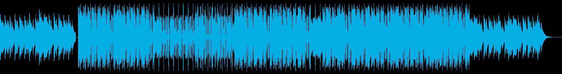 感動的でテンポの良い最高にクールなビートの再生済みの波形