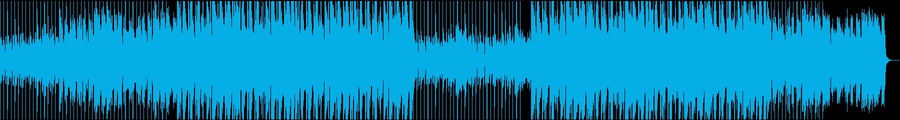 オシャレなコードのBGMですの再生済みの波形
