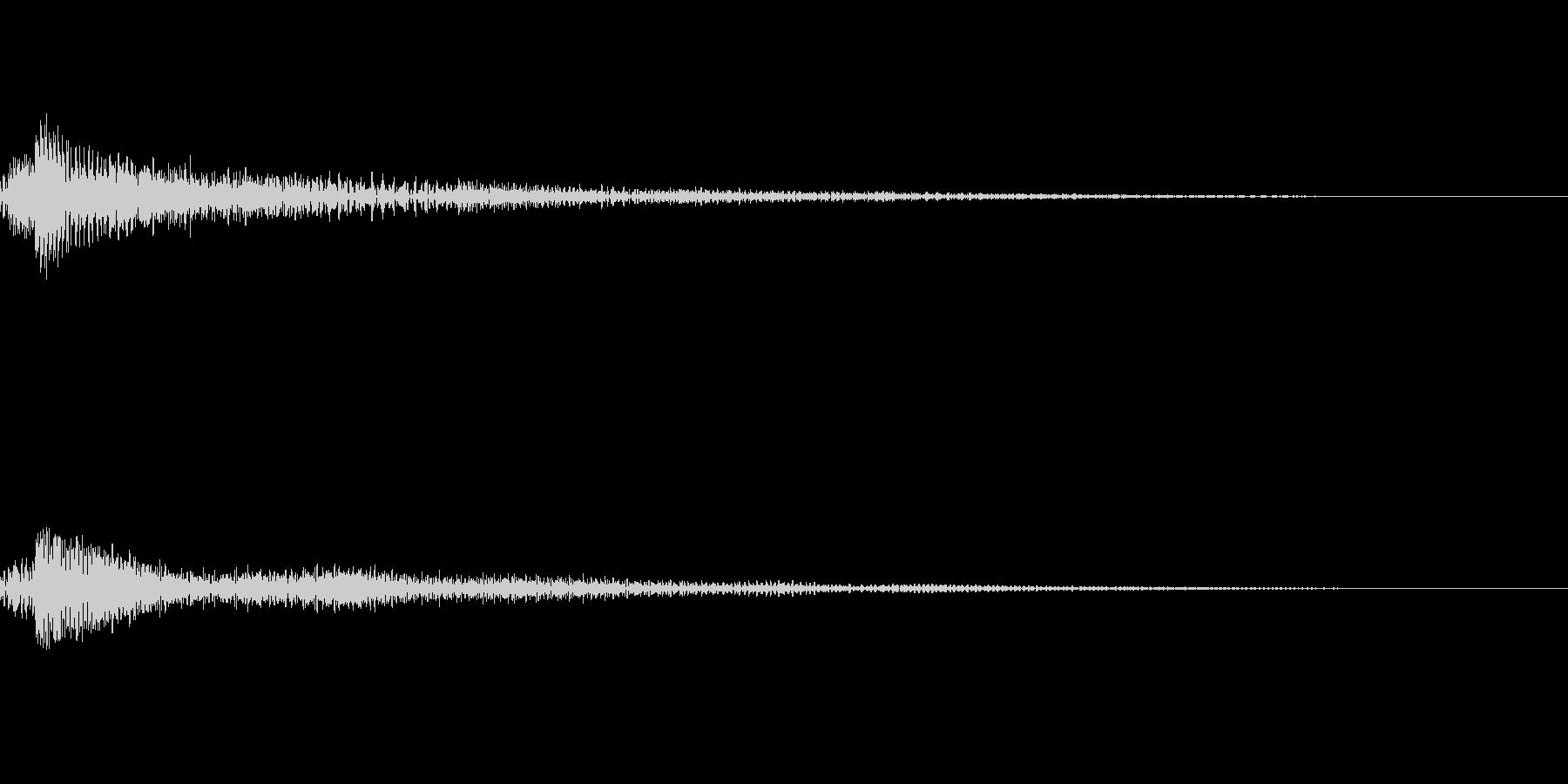 ファンタジー かわいい効果音 決定系13の未再生の波形