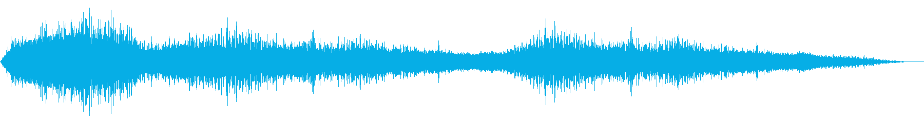 Noise-based sound source 13 that is likely to appear in horror films's reproduced waveform