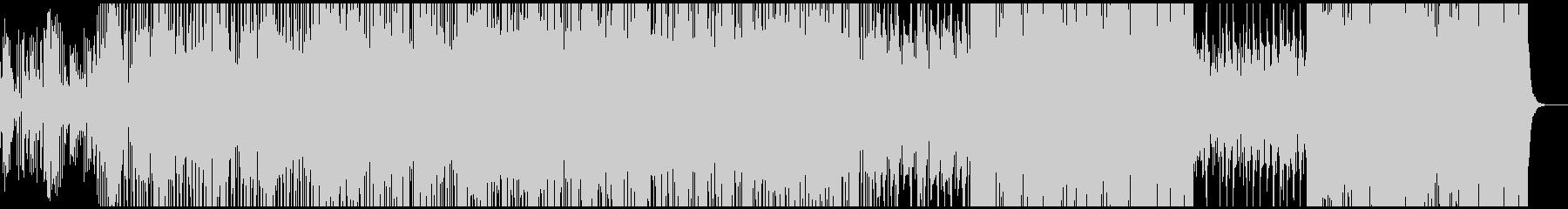 ゆったりした雰囲気のエレクトロポップの未再生の波形