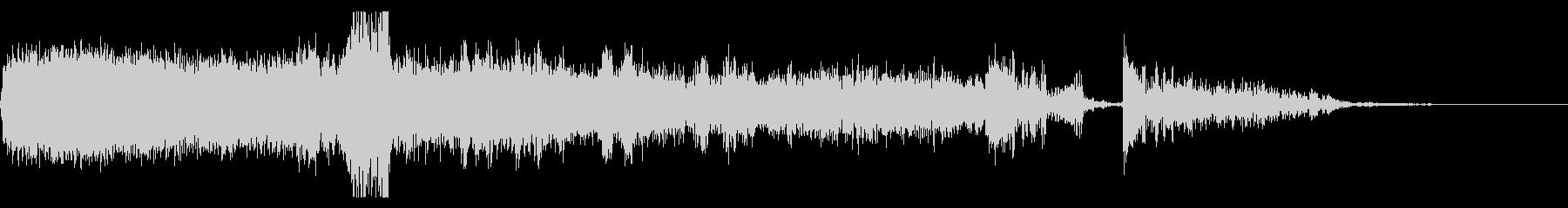 FMラジオ的ジングル15の未再生の波形