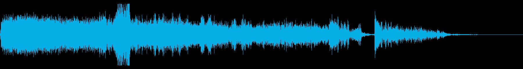 FMラジオ的ジングル15の再生済みの波形