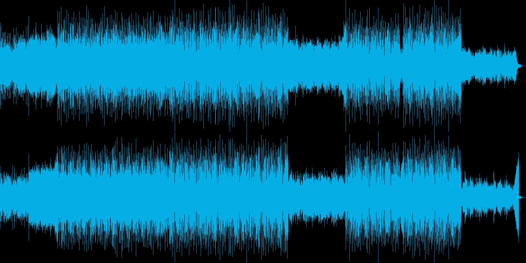 切なく美しい旋律と疾走感のBGMの再生済みの波形