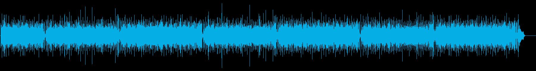 さわやか躍動するリズミカルなポップスの再生済みの波形