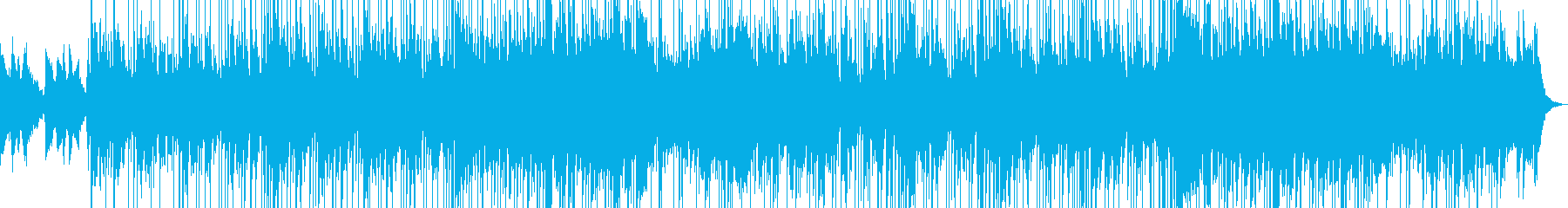 情熱さを感じるファンクジャズの再生済みの波形