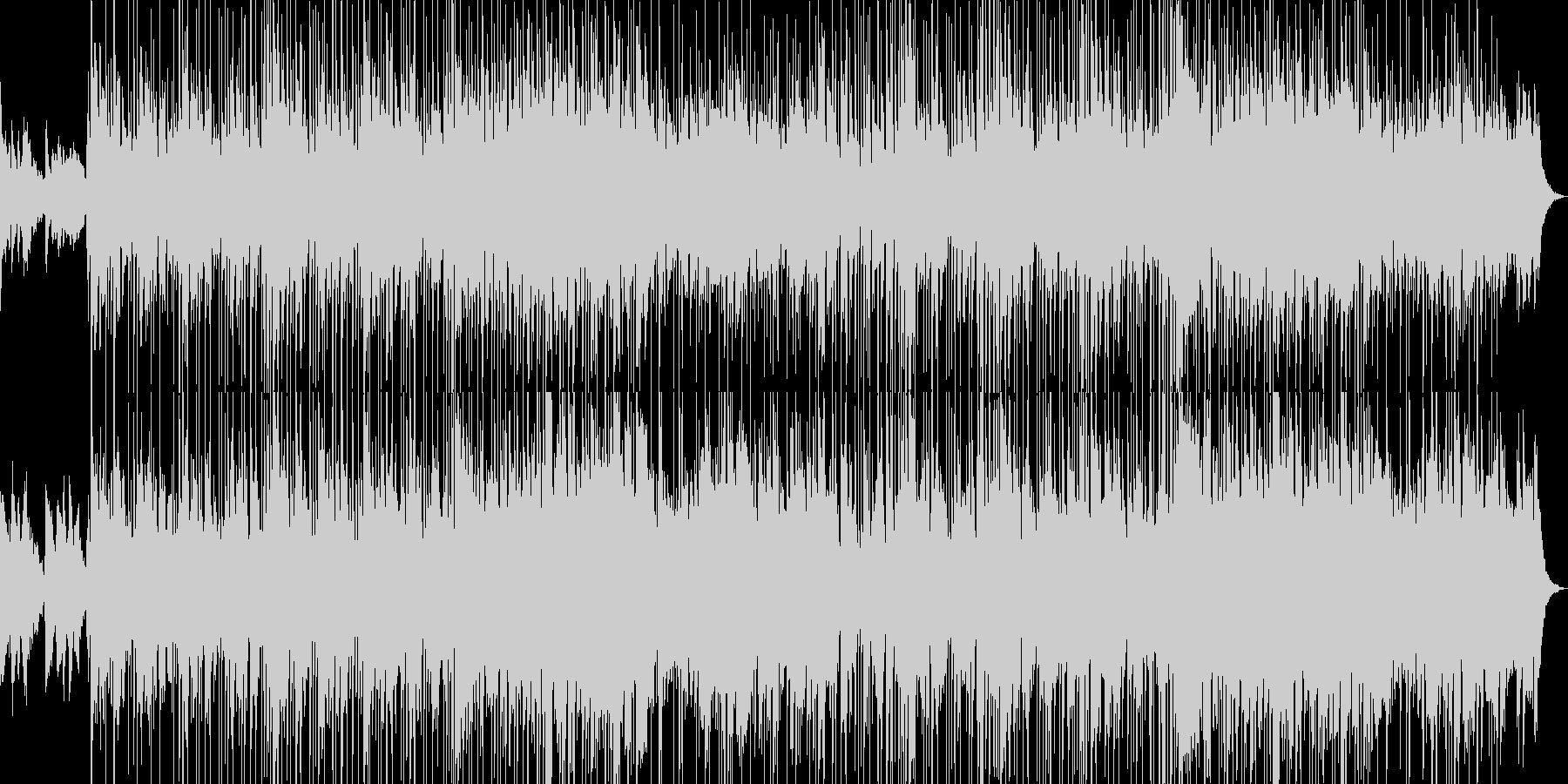 情熱さを感じるファンクジャズの未再生の波形
