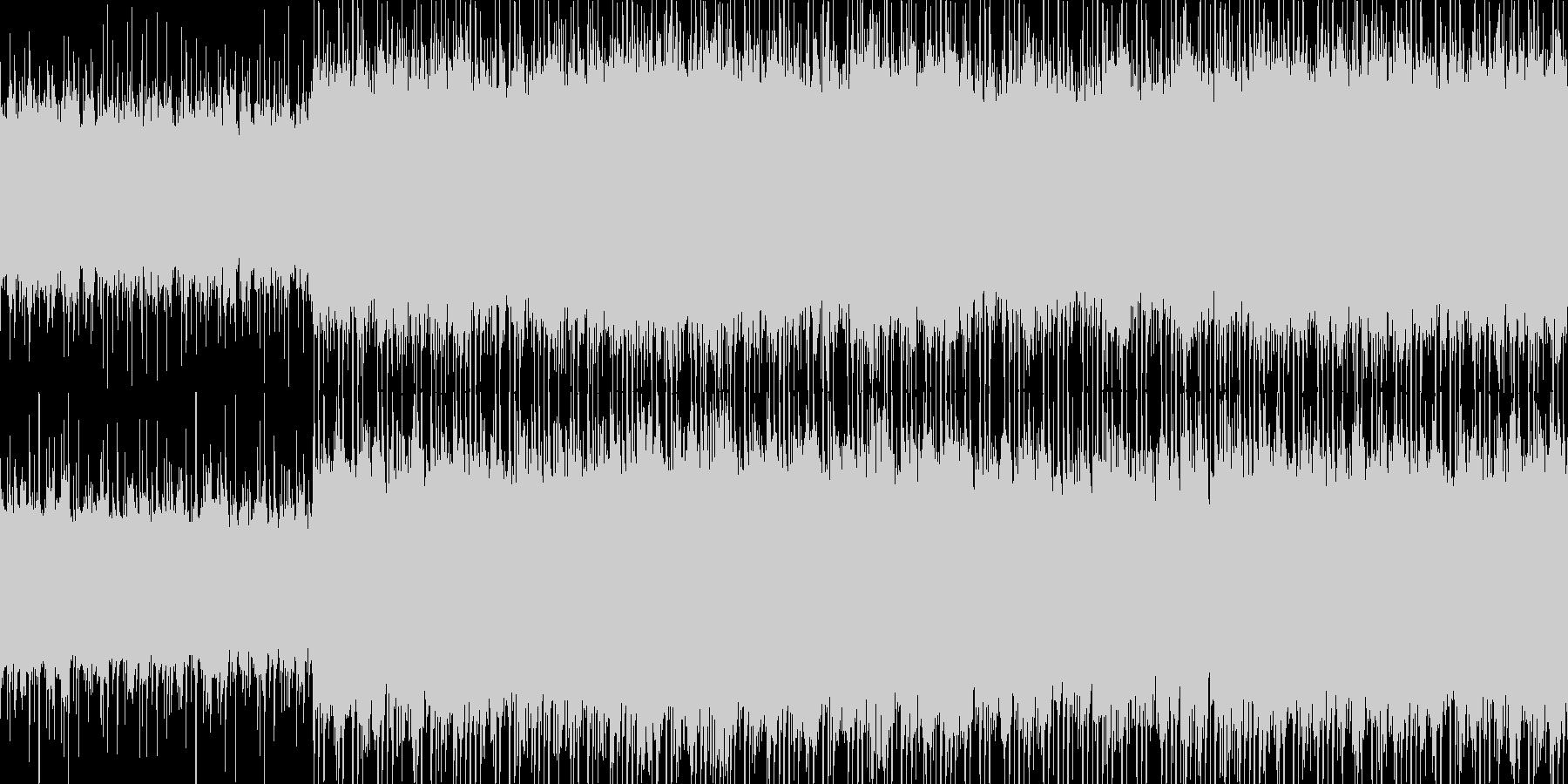 アコギ主体の爽やかなポップス3の未再生の波形
