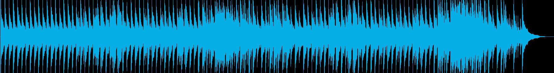 ゆったりとした午後のひと時をイメージの再生済みの波形