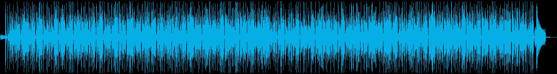 犬のハッピーで明るいポップな楽曲_木琴の再生済みの波形
