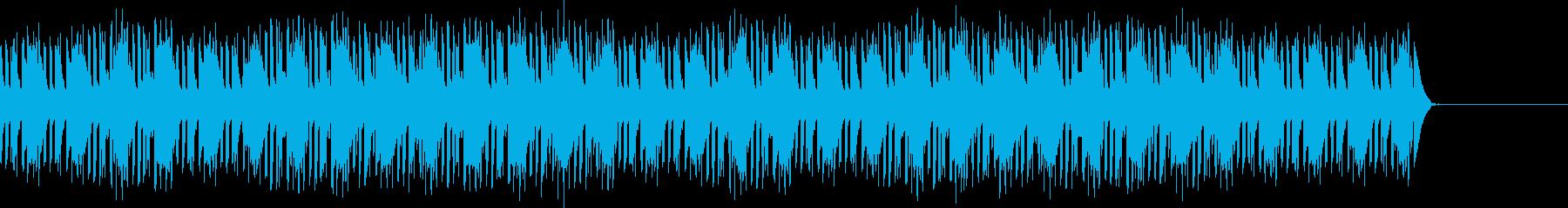 パズルやクイズのシンキングタイムの再生済みの波形