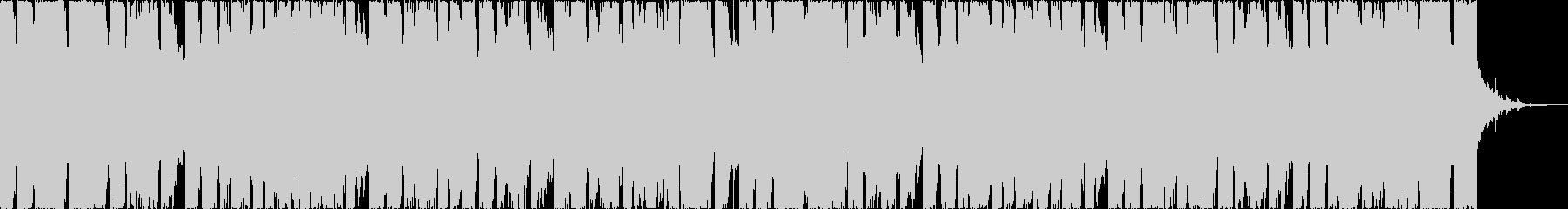 チルアウト軽快爽やかなトロピカルハウスcの未再生の波形