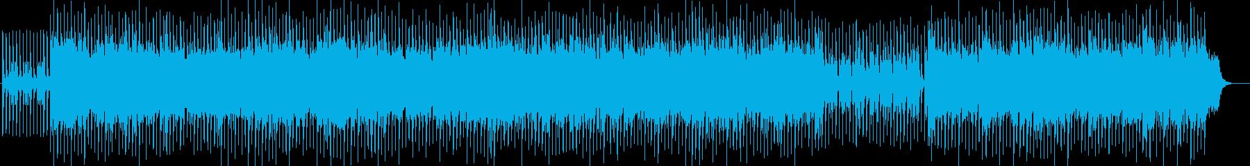 90's渋谷系ソウルミュージックおしゃれの再生済みの波形