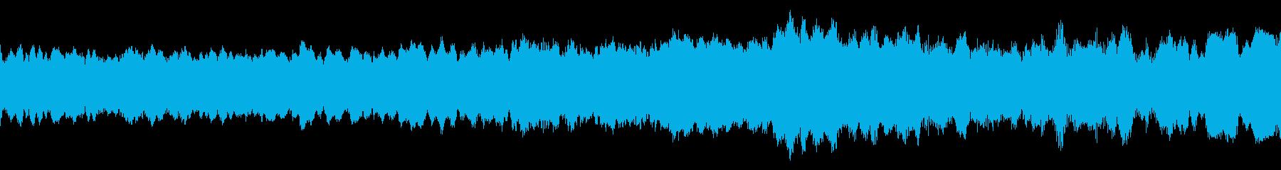 宇宙船は高から低に減速するの再生済みの波形