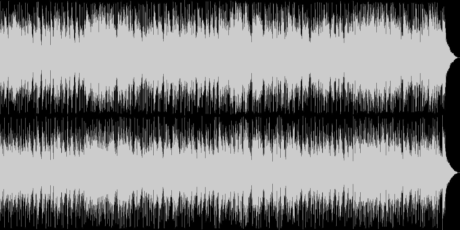 穏やかなシンセ・ギターサウンドの未再生の波形