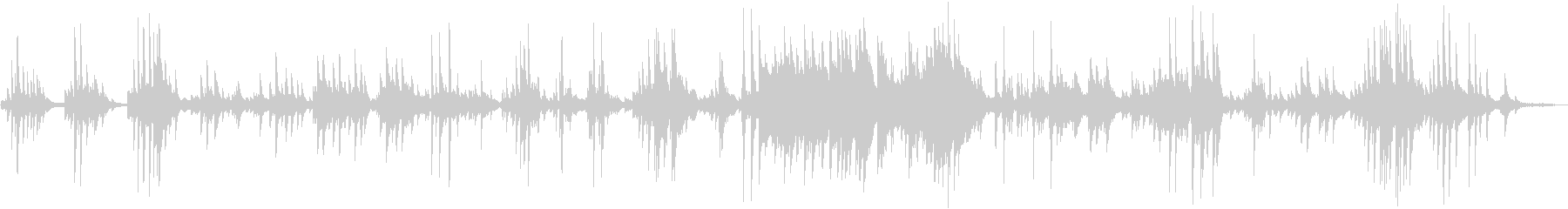 ピアノ×Pad音色の爽やかなソロ演奏曲…の未再生の波形