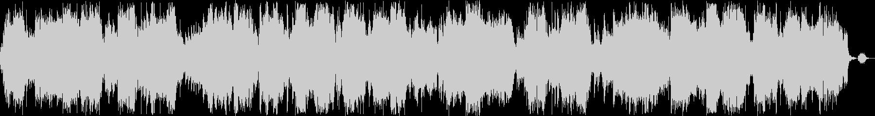 安らぎ感のある管楽器ピアノサウンドの未再生の波形