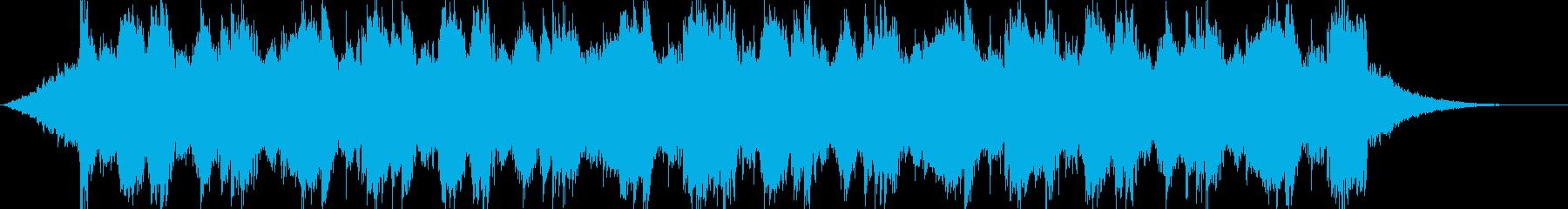 シネマティック01・壮大・ハリウッドS2の再生済みの波形