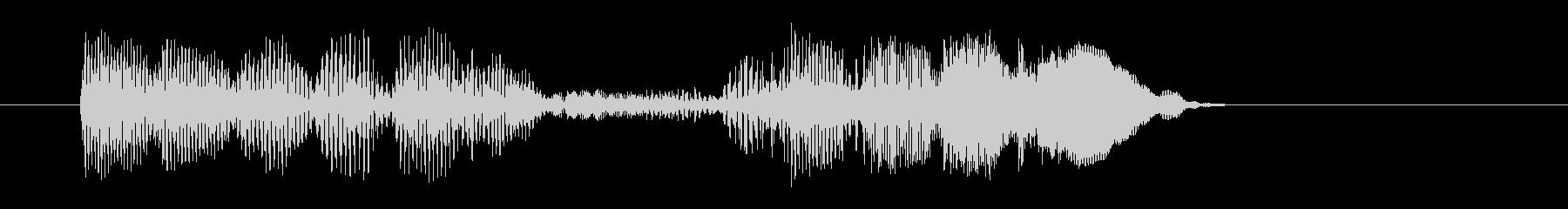 8ビット風システム音-18-4_dryの未再生の波形