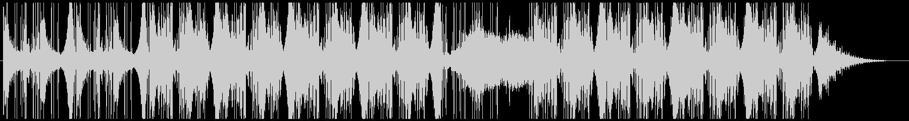 優しく寂しいピアノ小品のダブ系リミックスの未再生の波形