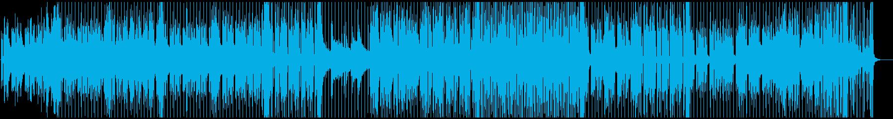 メロウなエレクトロニカ、甘く切ない の再生済みの波形