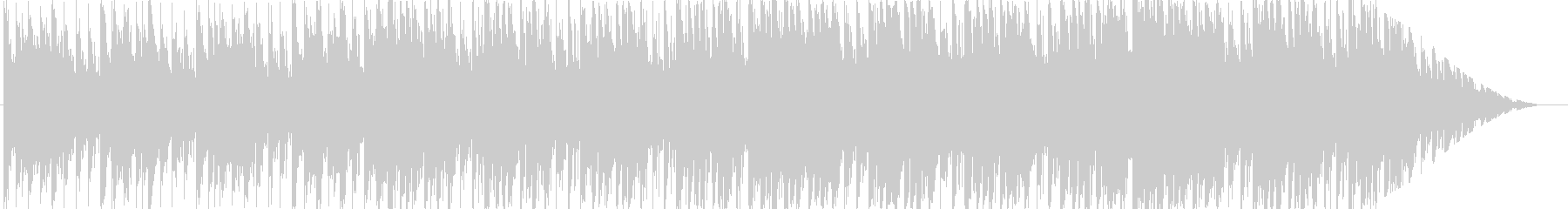 ジングル - ディープハウスの未再生の波形