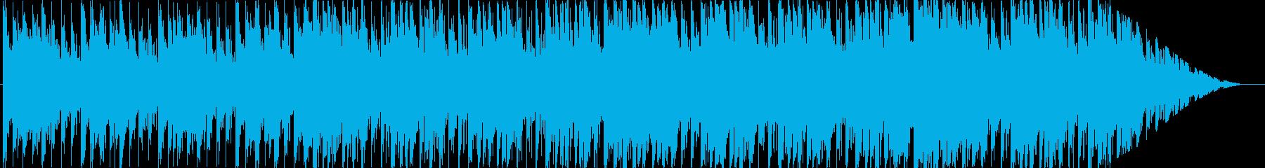 ジングル - ディープハウスの再生済みの波形
