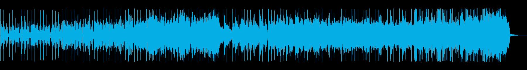 雅楽っぽい 奇妙な雰囲気の変拍子曲の再生済みの波形