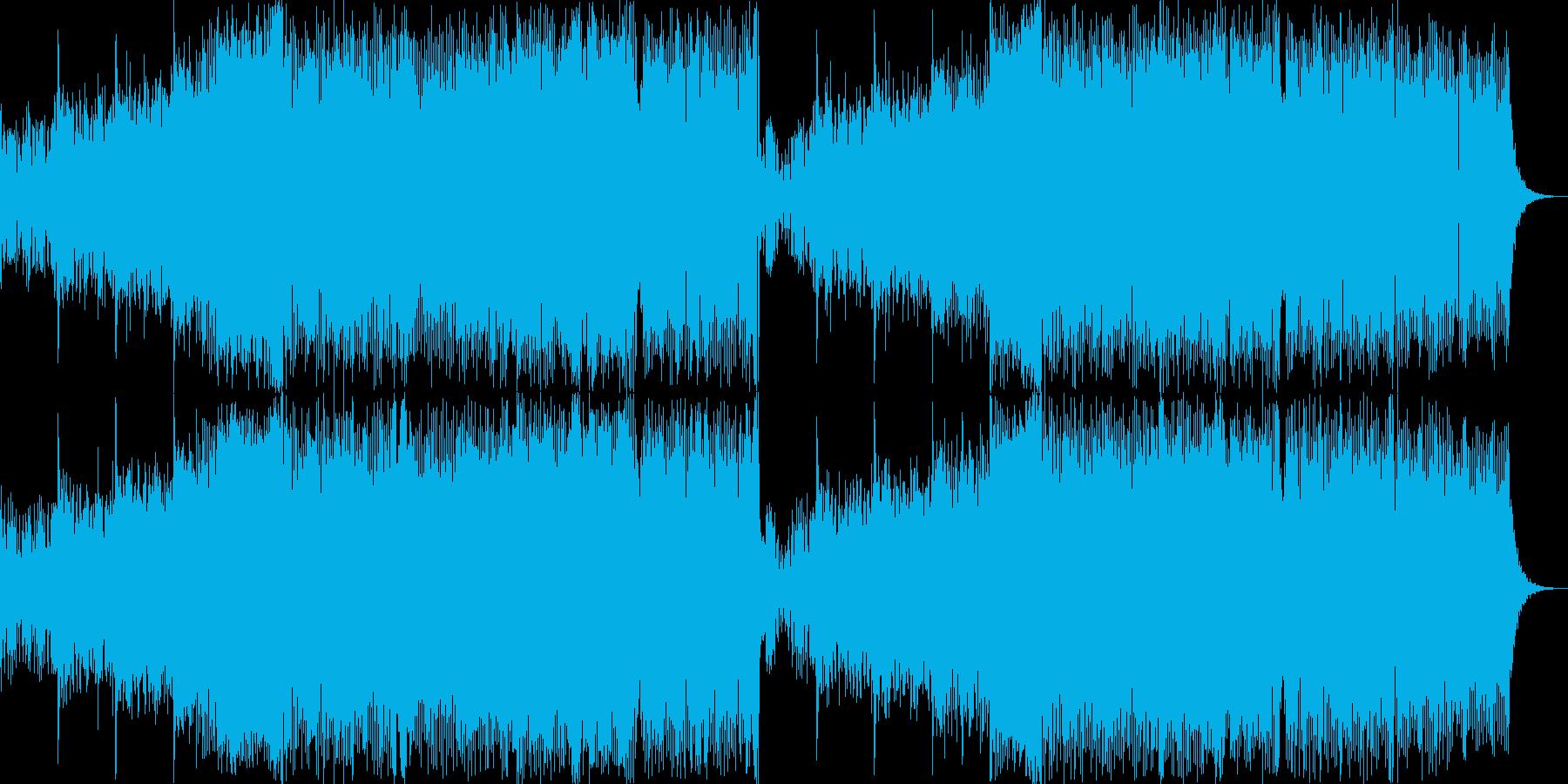 メロディシンセ。ポップコマーシャル...の再生済みの波形